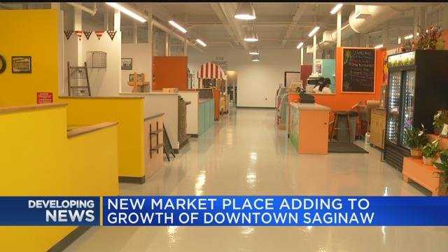 New marketplace adding to growth of downtown Saginaw