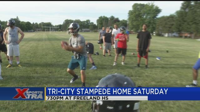 Tri-City Stampede home Saturday