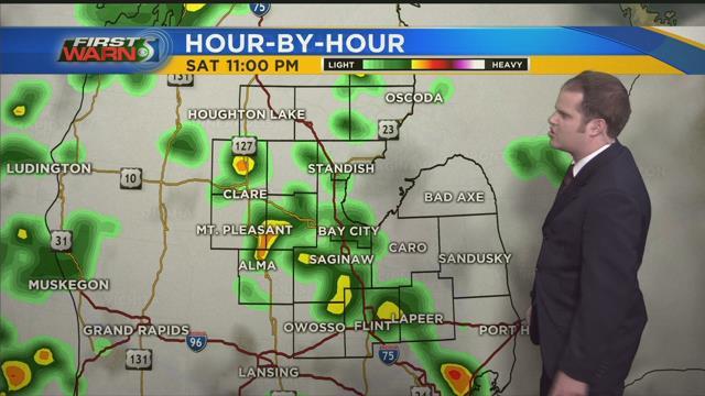 Smaller chances for rain linger on Sunday