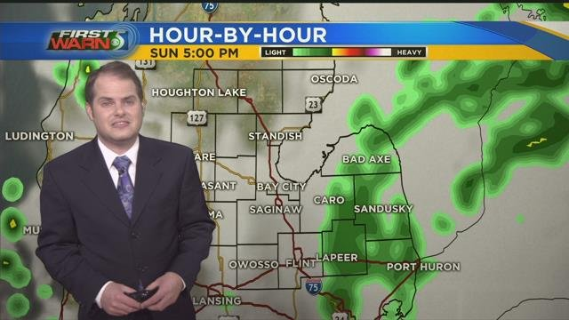 Another chance of rain caps off the weekend