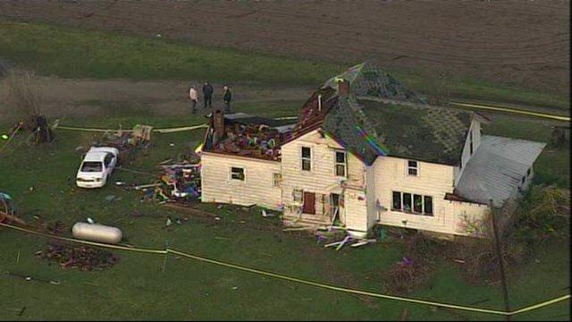 Home destroyed in Dexter
