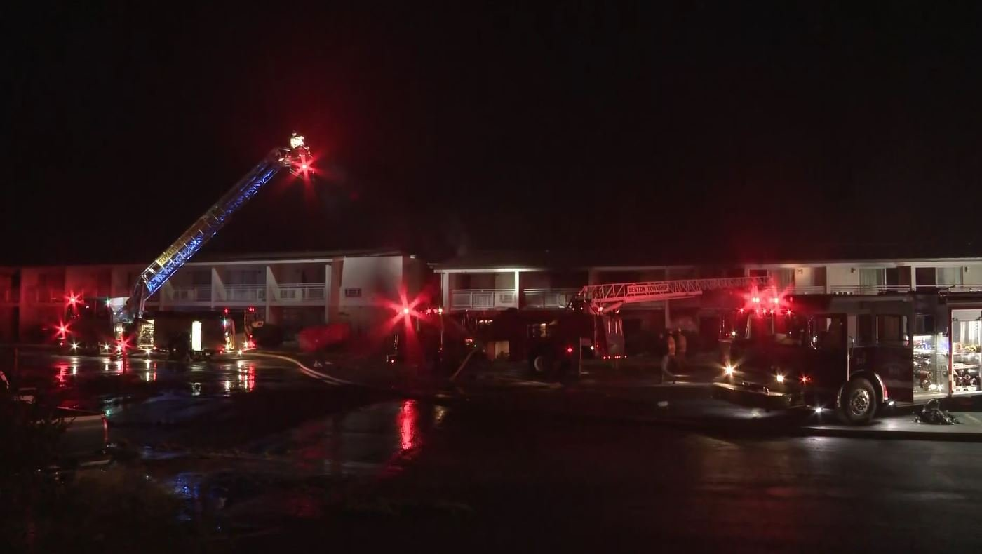 Five children, one adult killed in motel blaze