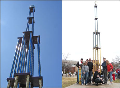 QuickTrophy Builds the World's Tallest Trophy
