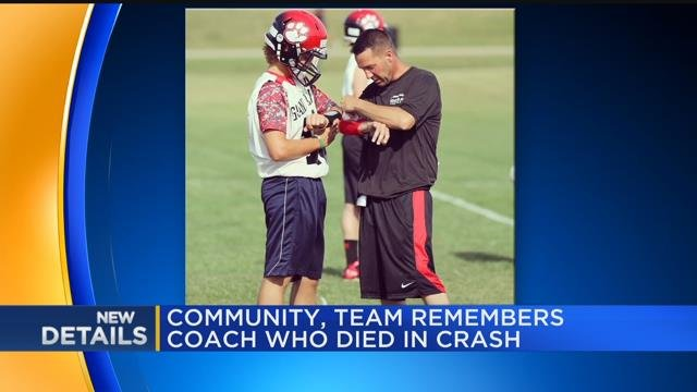 Community, team remembers coach who died in crash