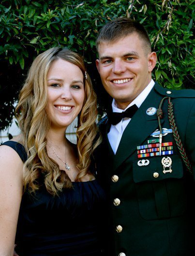 Army Staff Sgt. Travis Mills and his wife Kelsey.