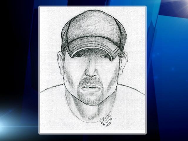 Sketch of suspected serial stabber