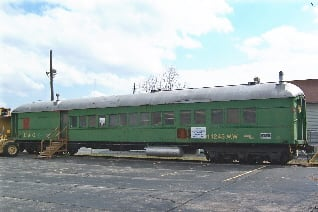 Photo courtesy Saginaw Railway Museum