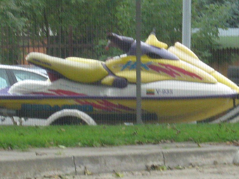 Not the actual stolen jet skis in question.