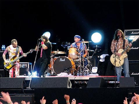 RHCP at Pinkpop in 2006
