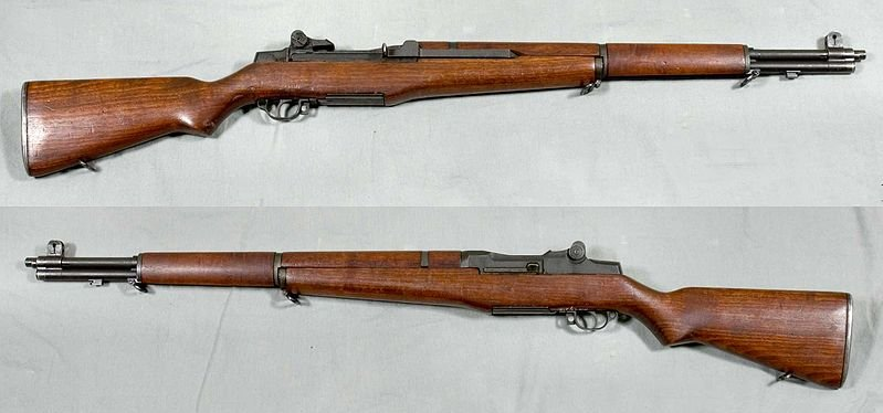 An M-1 Garand