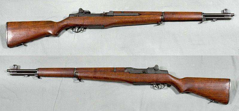 An M-1 Garand