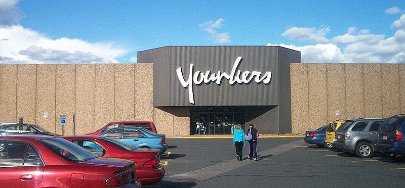 Younkers store at Westwood Mall in Marquette, Michigan.