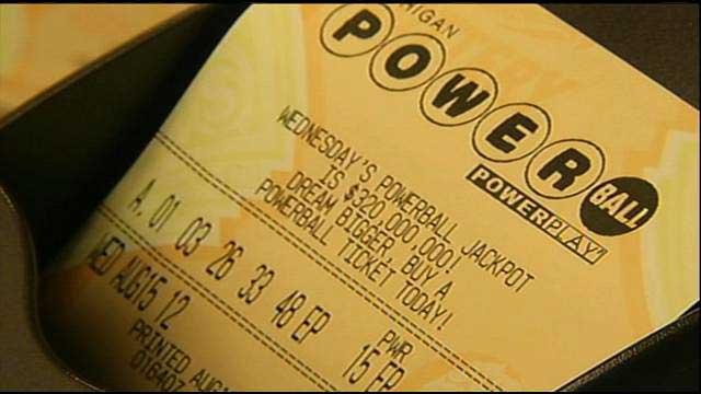 Michigan Powerball tickets