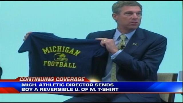 University of Michigan AD David Brandon