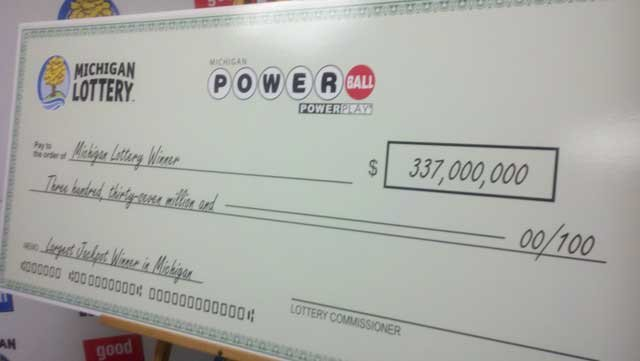 That's one big check!