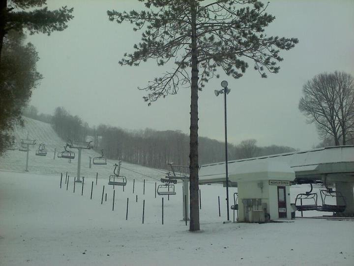 Chair lifts at Boyne, courtesy of Facebook.