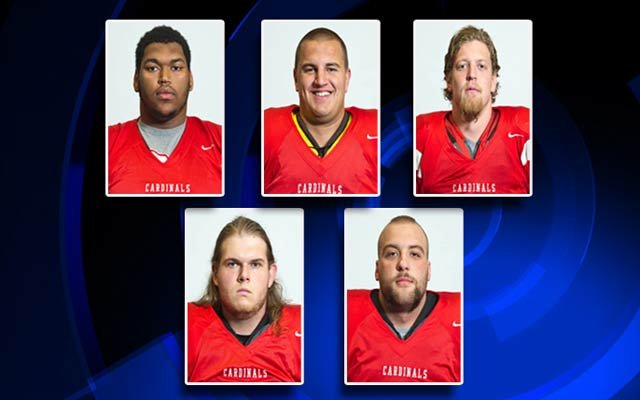 The five suspended players.