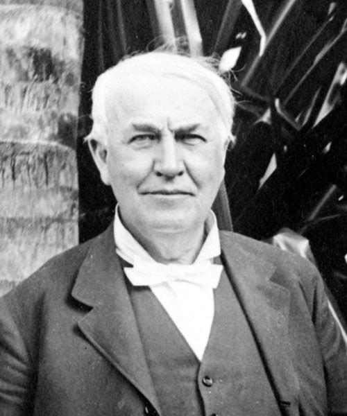 Thomas Edison in 1914