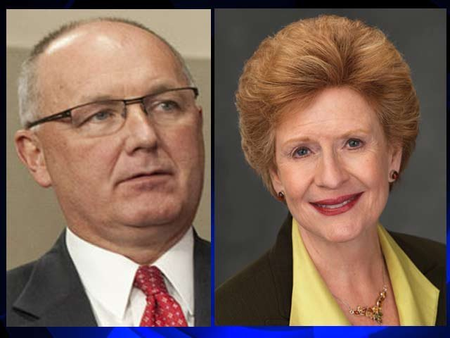 Pete Hoekstra and Debbie Stabenow