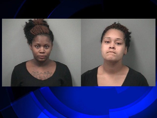 Daketa Crowley is pictured on the left and Breanna Tucker on the right.