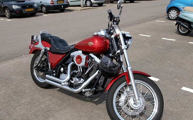 Not the actual Harley Davidson in question.