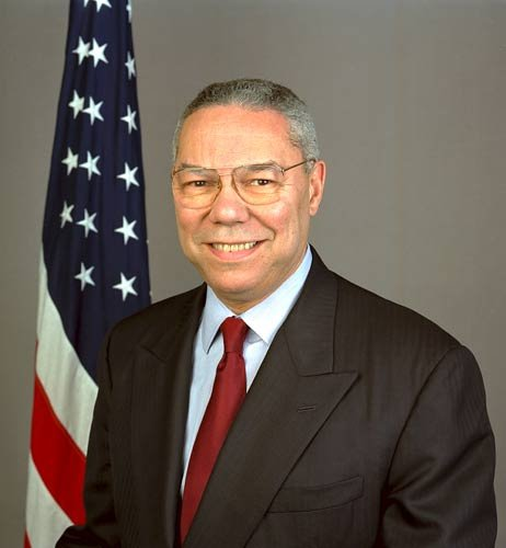 Fmr. U.S. Sec. of State Colin Powell