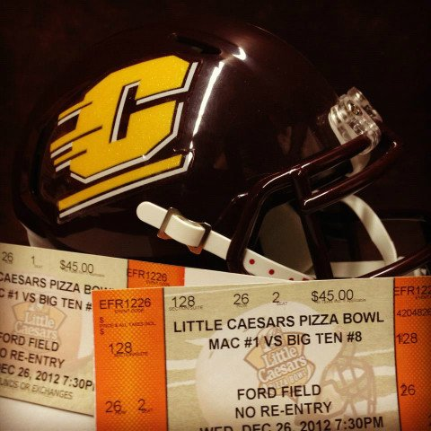 Photo courtesy of CMU football on Facebook