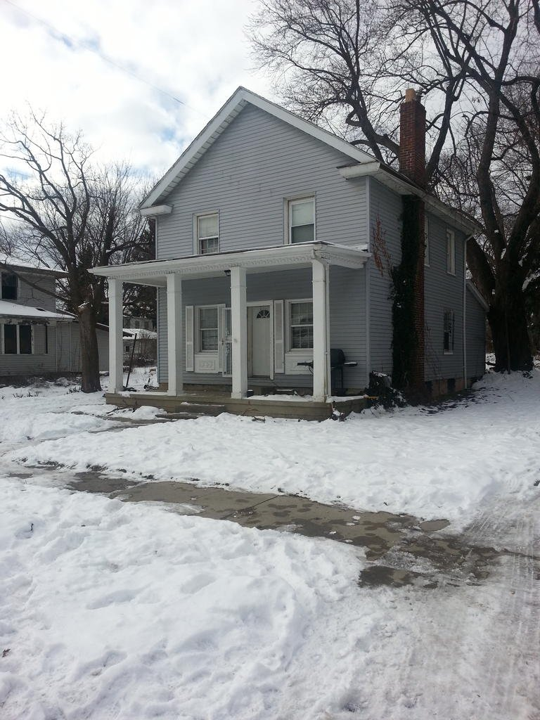 The home where the teen was shot.