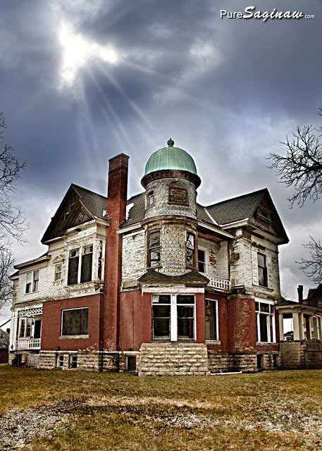 Saginaw's Hill House -- Photo courtesy of Mike Sonnenberg.