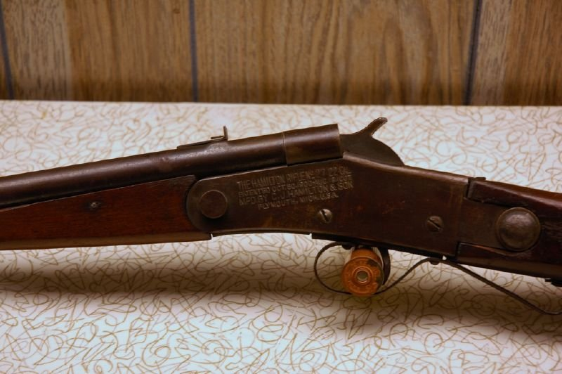 A .22 caliber rifle made in Michigan.