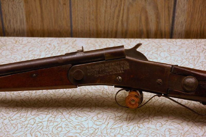A .22 caliber rifle made in Michigan.
