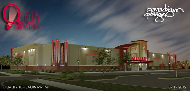 new movie theater to replace saginaws quad wnem tv 5