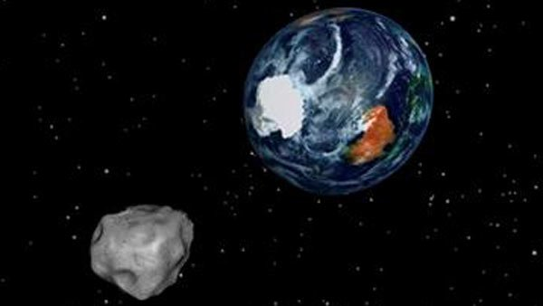 The asteroid passing near Earth on Friday had nothing to do with the meteor in Russia.