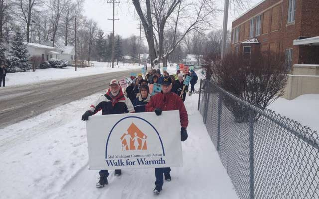 Walkers in Gladwin County.