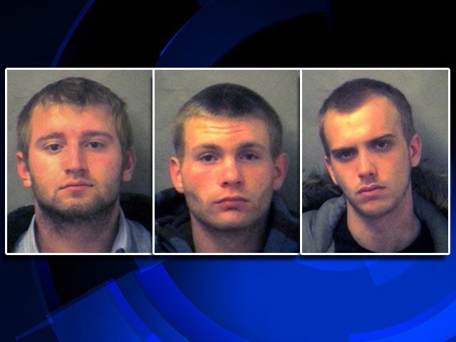 Stephen Ashley Jr., Kaleb Rosin and Brett Vaughn.