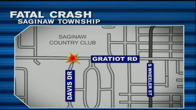 A map showing exactly where the crash occurred Wednesday morning.
