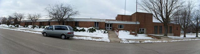 A panoramic view of the school. Photo courtesy of Mark Mance.