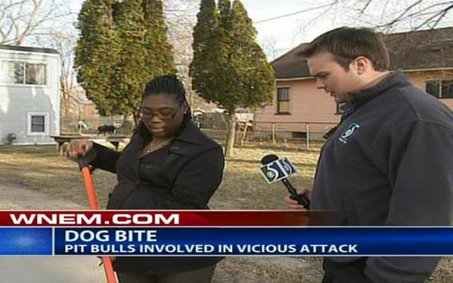 TV5's Andrew Keller talks with Deshonda Williams, who came to a city worker's rescue on Tuesday.