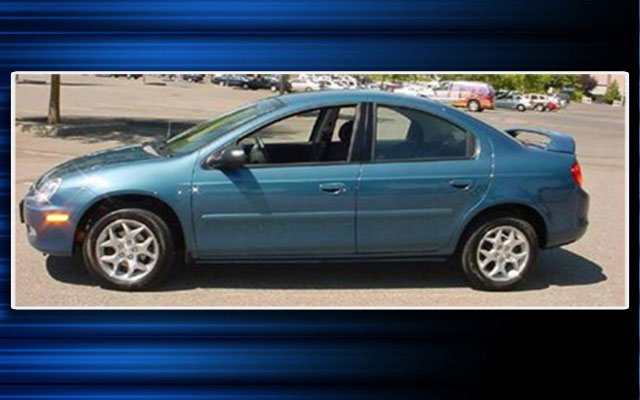 Police are seeking a Dodge Neon that looks similar to this one.