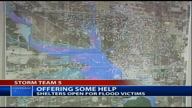 Maps predict where flooding in Midland will occur