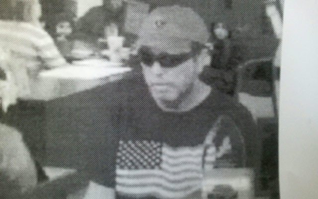 A photo of the suspect released by police on Thursday.