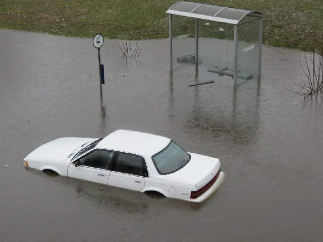 Grand Rapids was 3-4 inches of rain from disaster