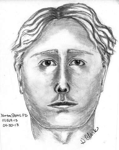 The police sketch of a man authorities want to speak with about Heeringa's disappearance