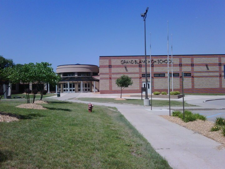 Grand Blanc High School -- photo courtesy of Facebook.
