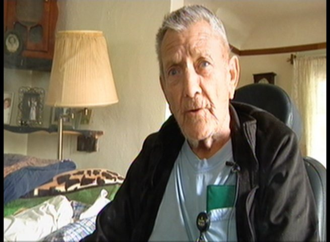 John Benway, 86, has lived at his Saginaw home for 40 years.