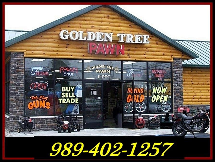 A view of the front of Golden Tree Pawn in Bay City - photo courtesy of Facebook.