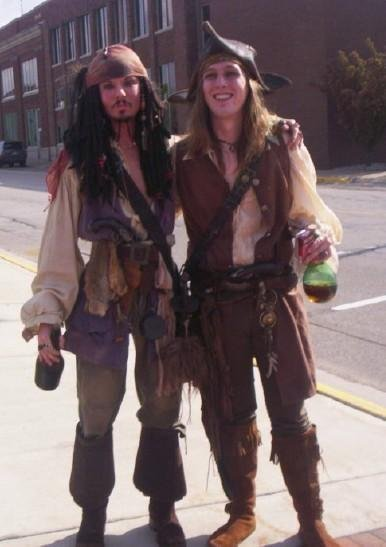 These guys are probably thrilled about the new 'Talk like a Pirate' day.
