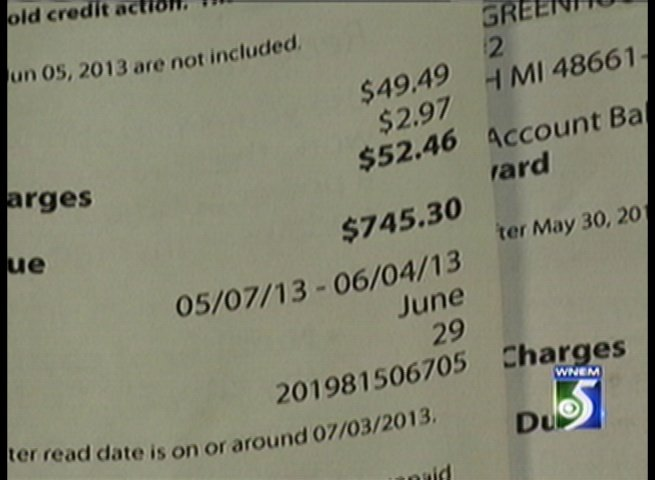 A look at the bill Patty Ryan got from Consumers Energy.