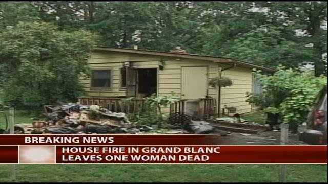 Woman killed in grand blanc township fire identified for Grand banc tv