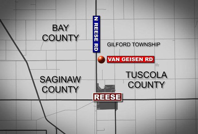 This map shows the general location of the shooting incident.